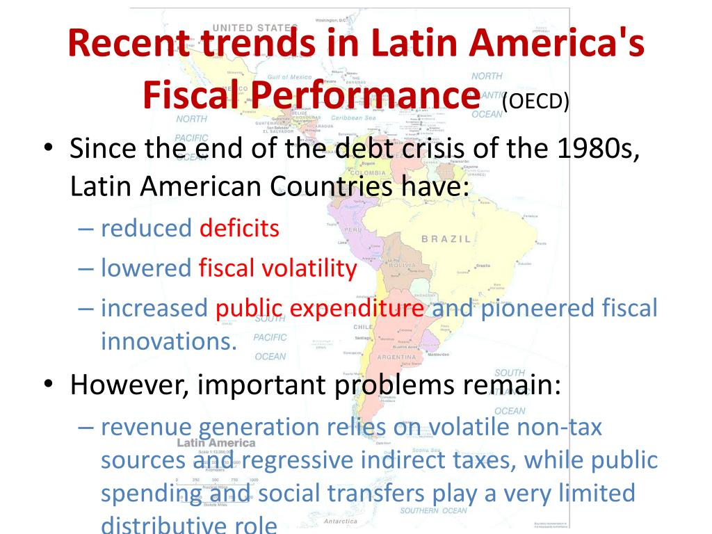 Recent trends in Latin America's