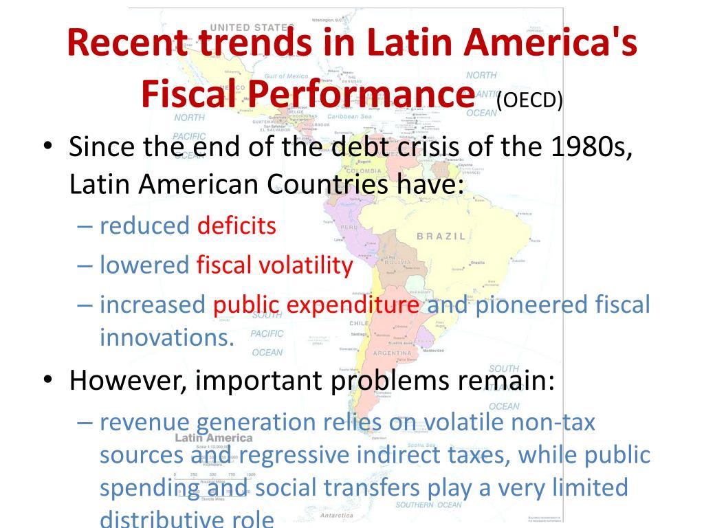 Recent trends in Latin America's