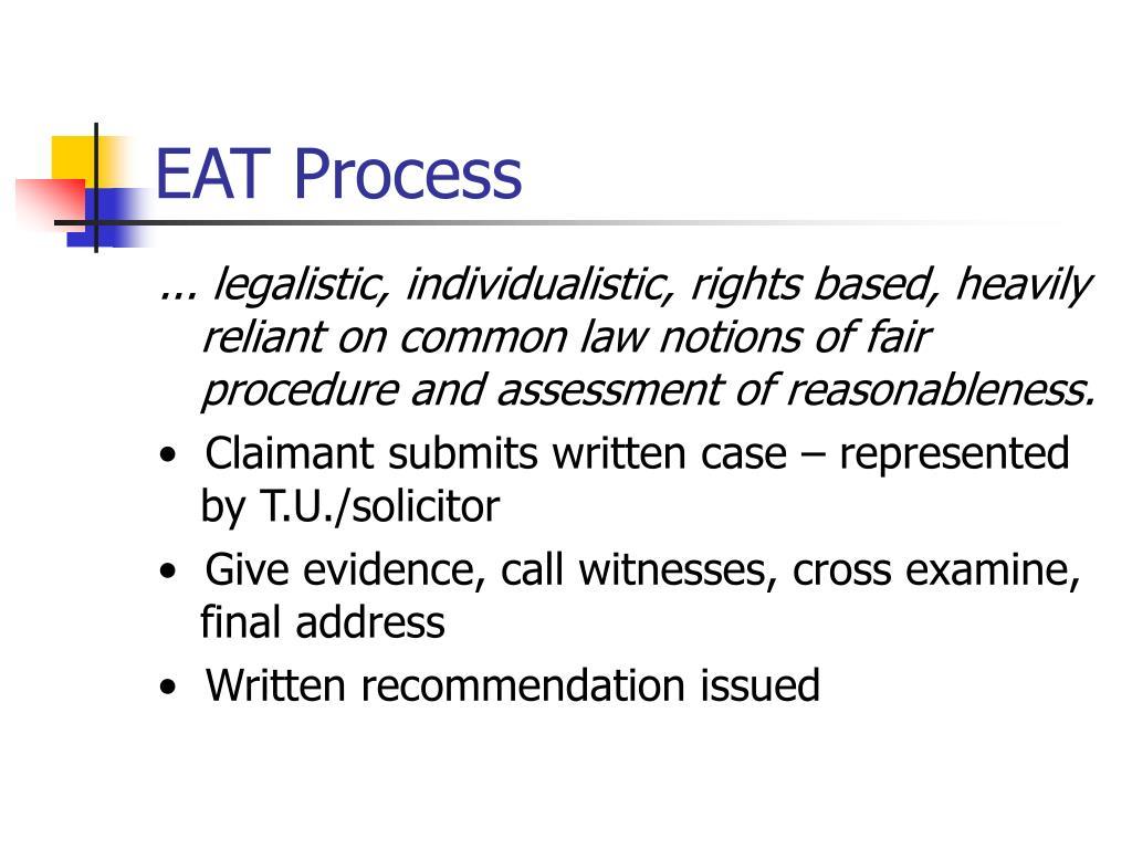 EAT Process