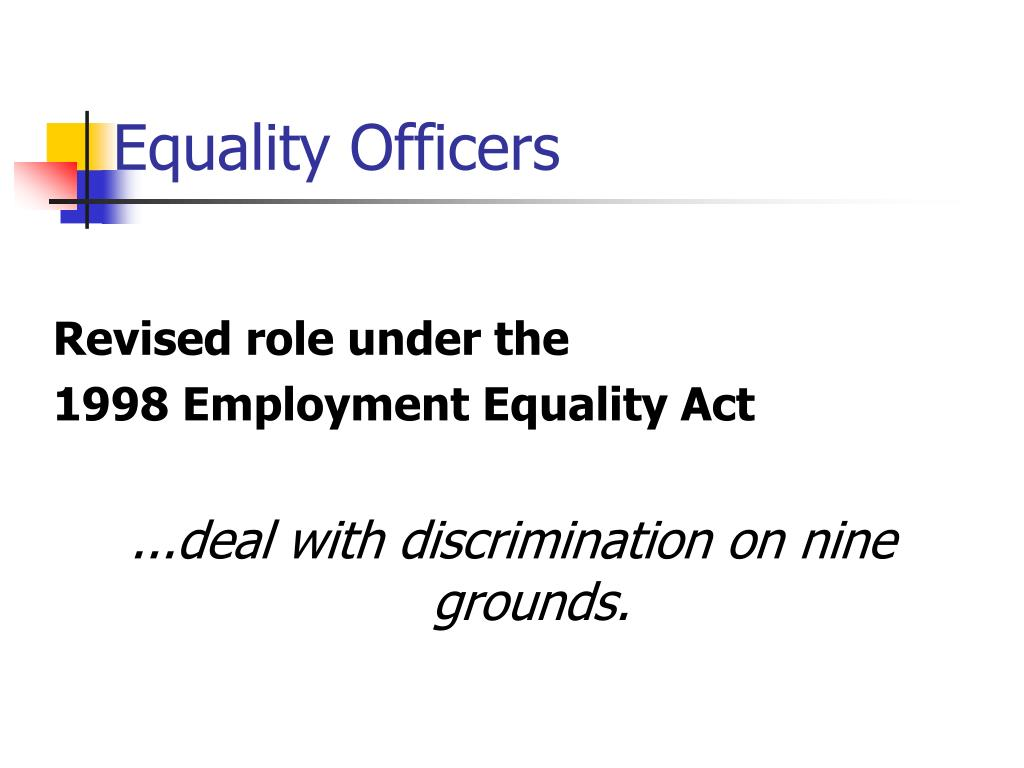 Equality Officers