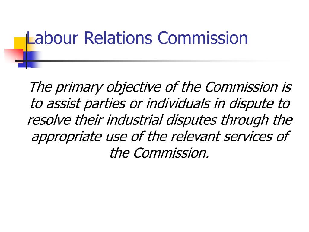 Labour Relations Commission