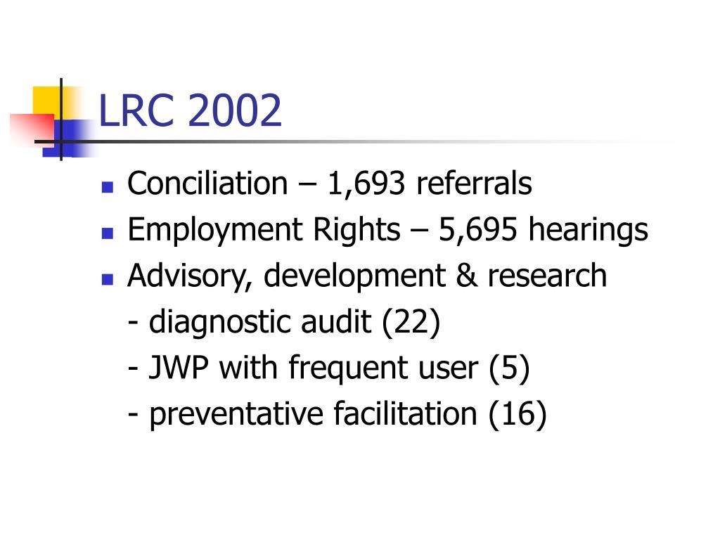LRC 2002