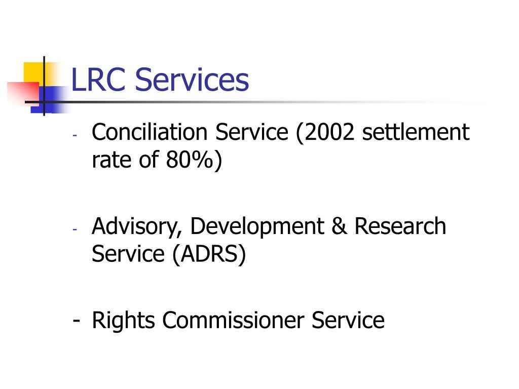 LRC Services