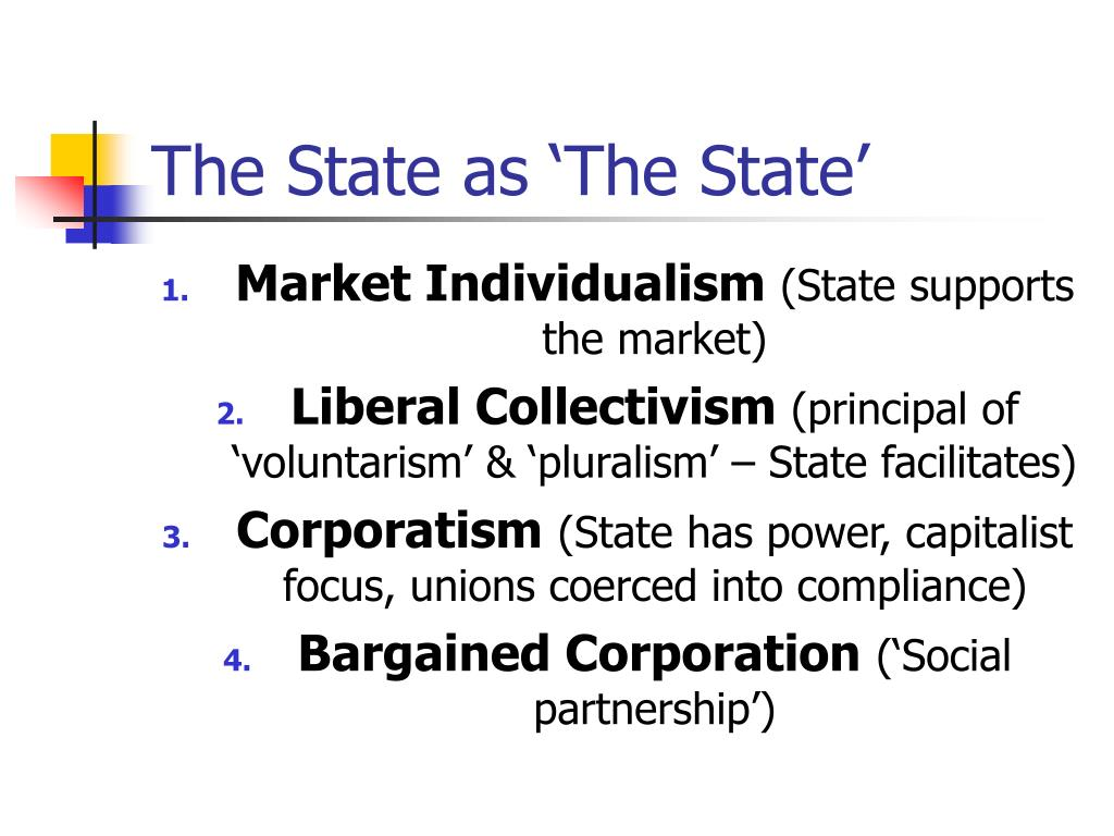 The State as