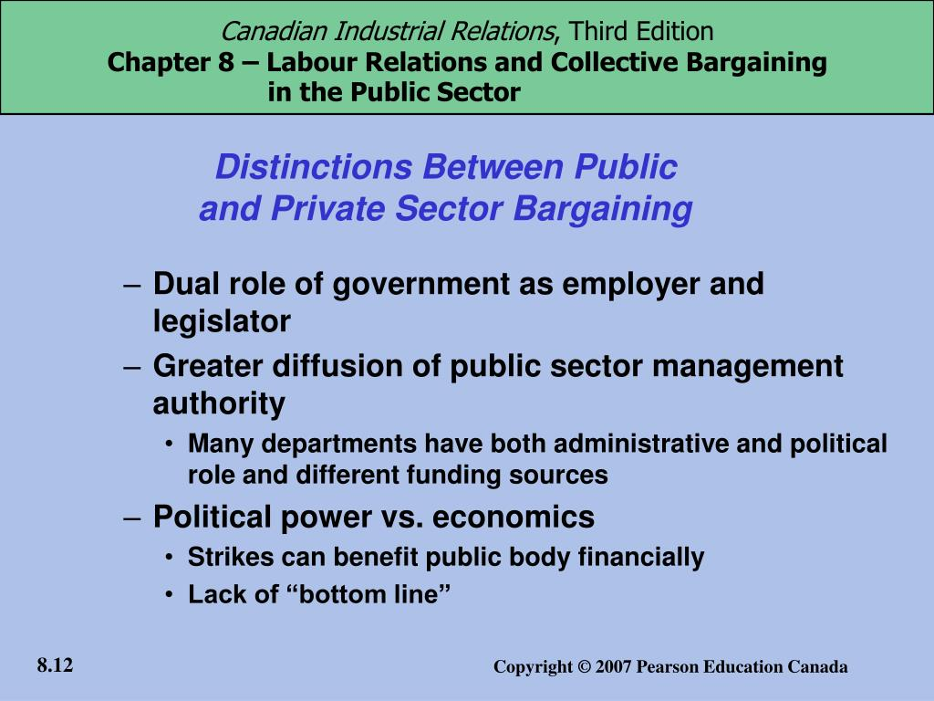 Distinctions Between Public