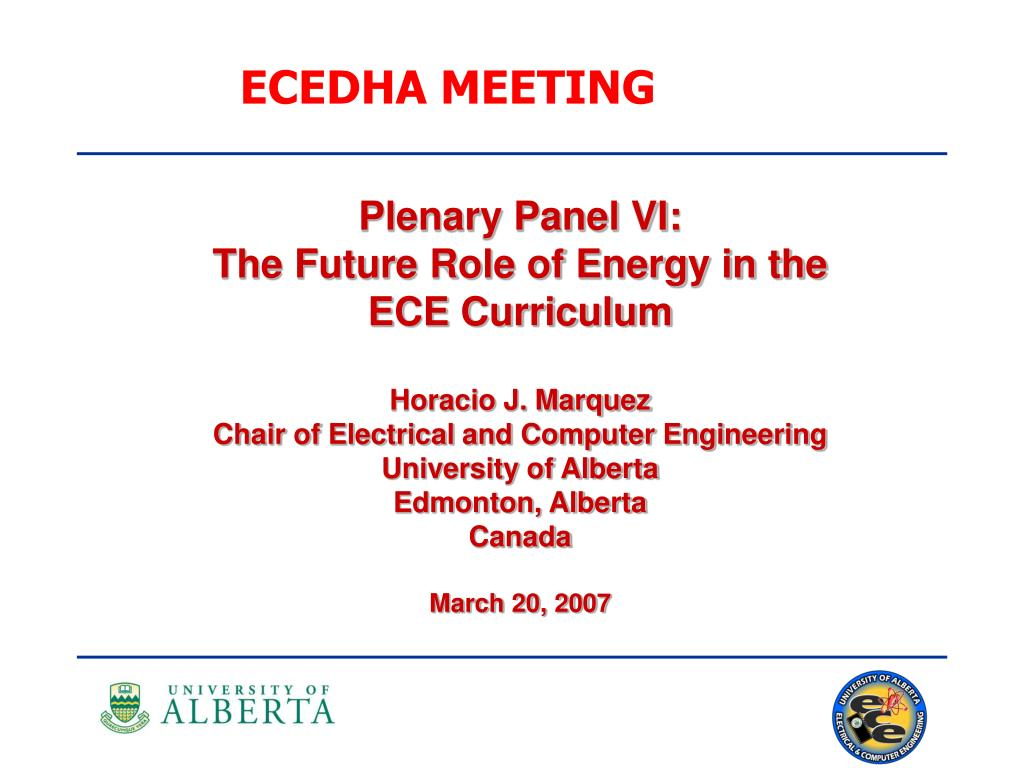 ECEDHA MEETING