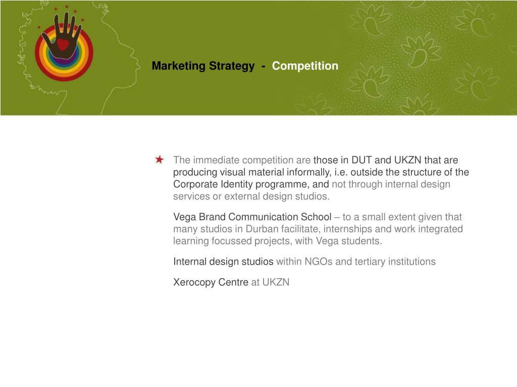 Marketing Strategy  -