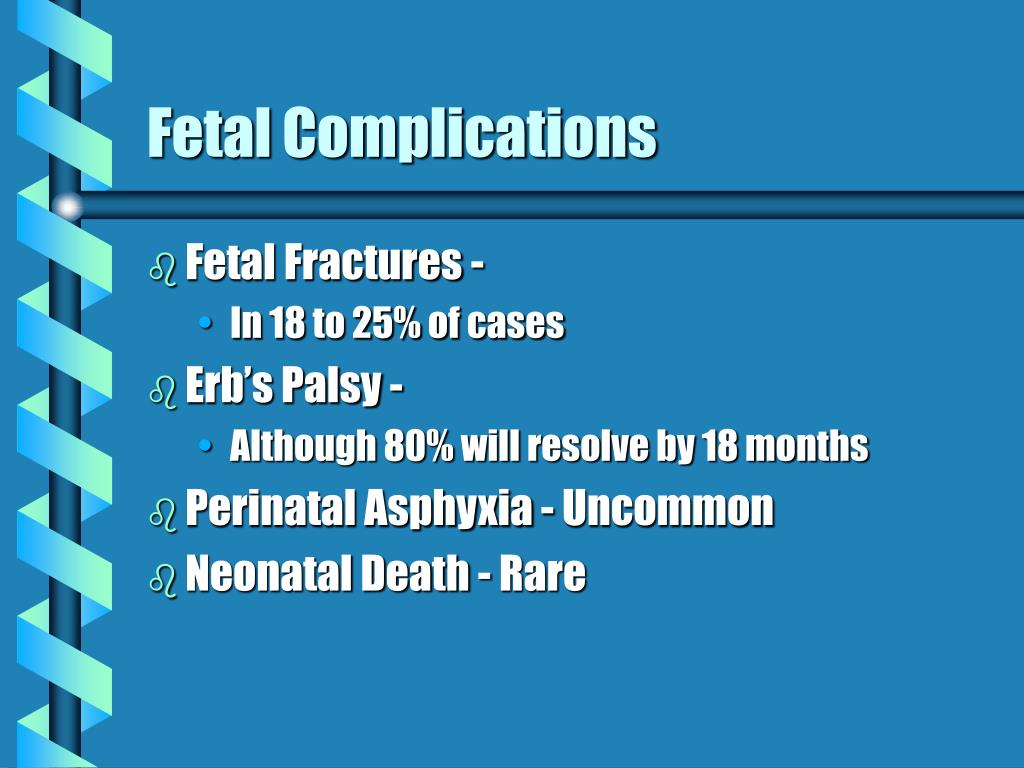 Fetal Complications