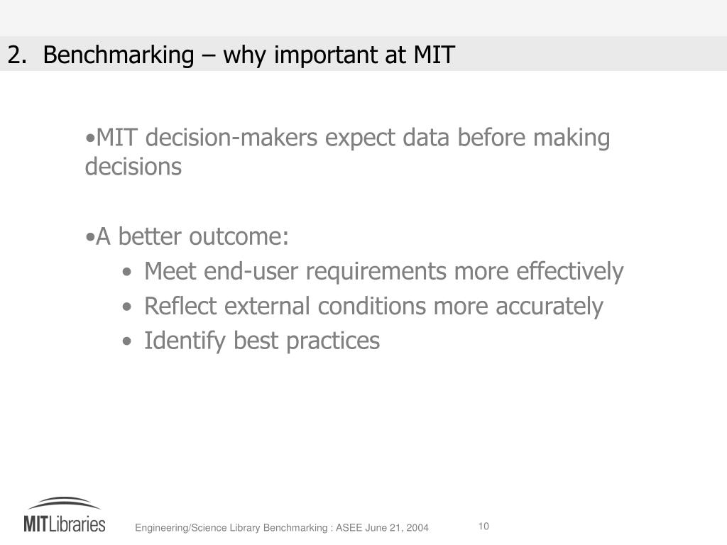 MIT decision-makers expect data before making decisions