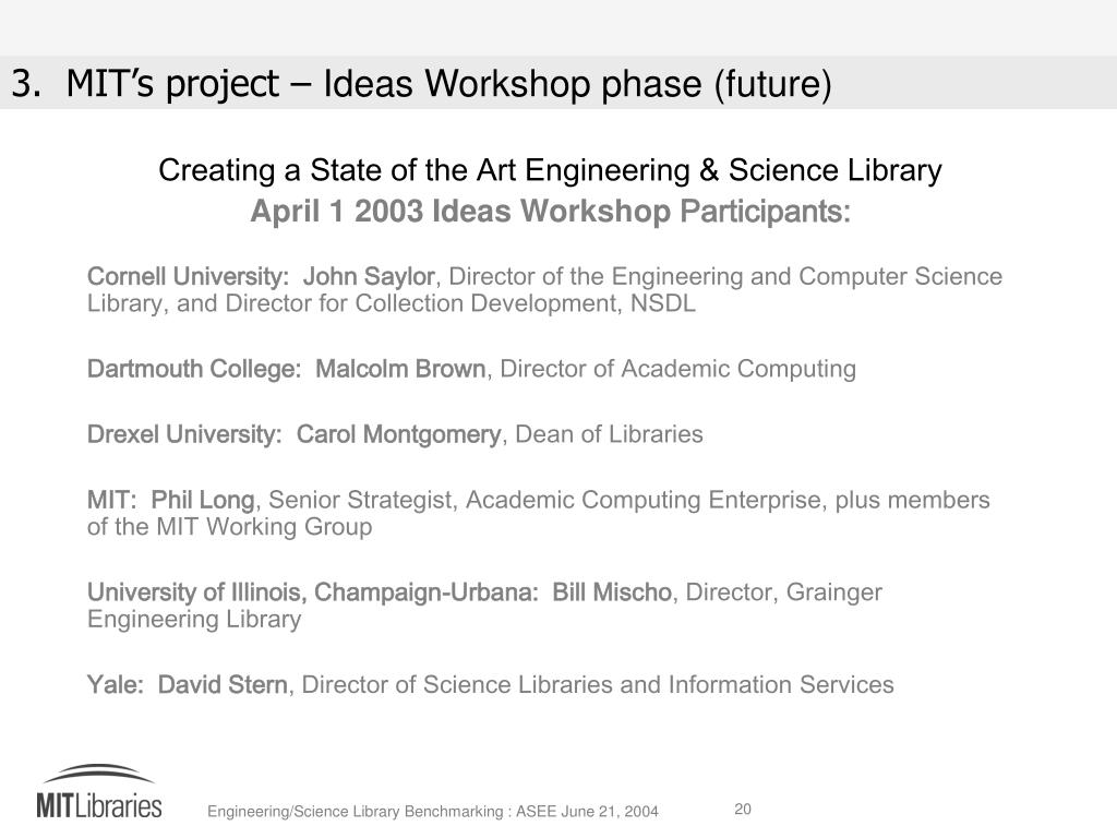 Creating a State of the Art Engineering & Science Library