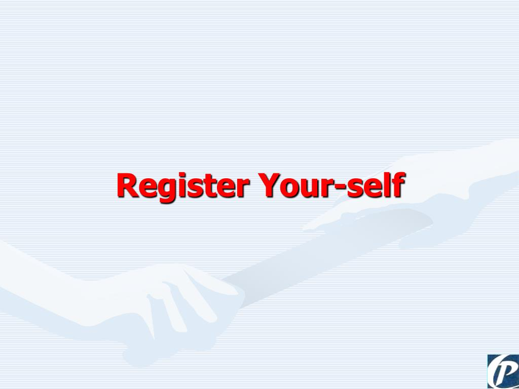 Register Your-self