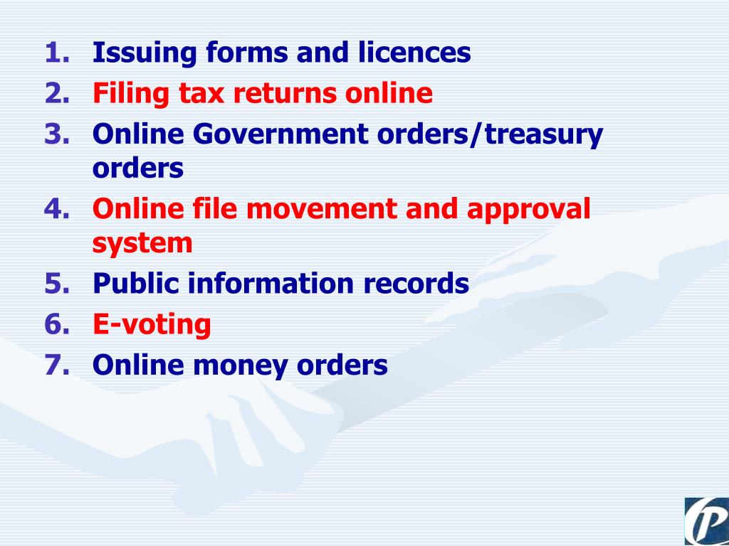 Issuing forms and licences