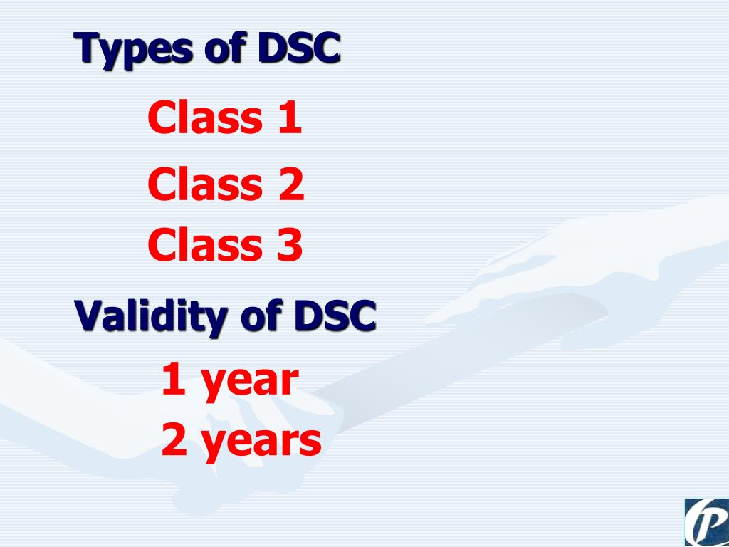 Types of DSC
