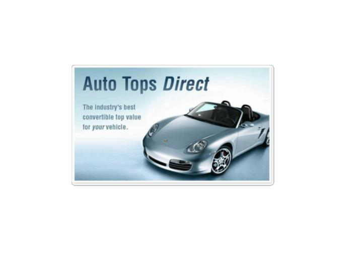 Auto tops direct the industry s best convertible top value