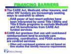 financing barriers23