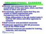 organizational barriers14