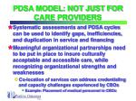 pdsa model not just for care providers26