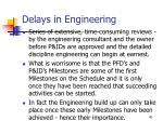 delays in engineering40