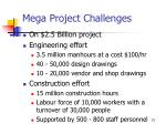 mega project challenges21
