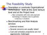 the feasibility study34