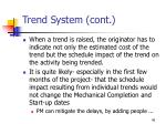 trend system cont46