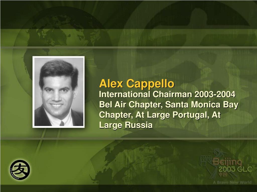 Alex Cappello