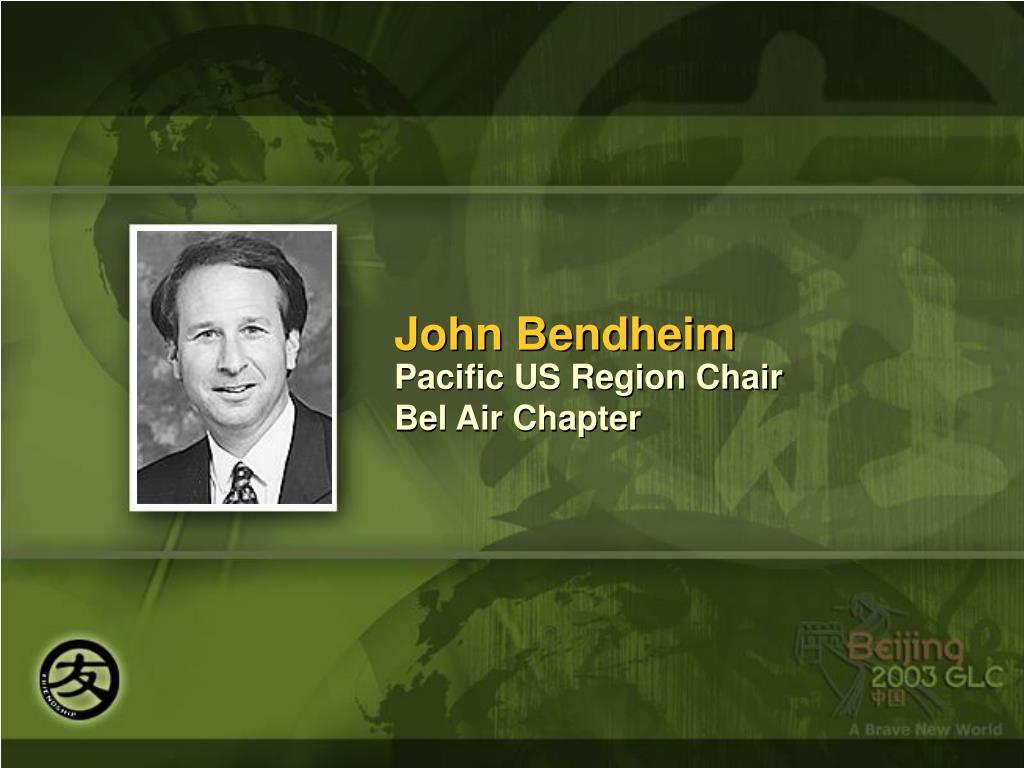 John Bendheim