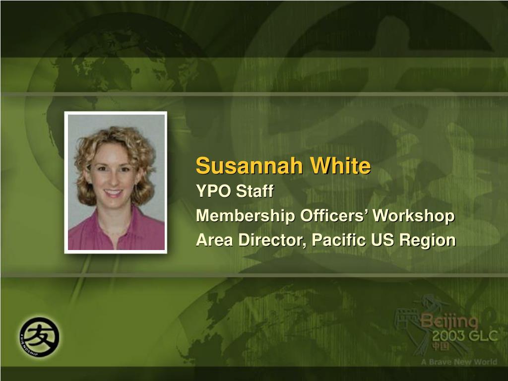 Susannah White