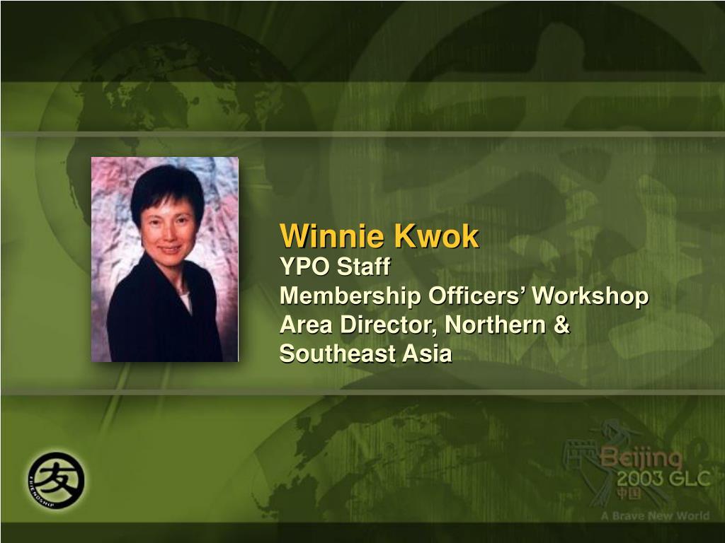 Winnie Kwok