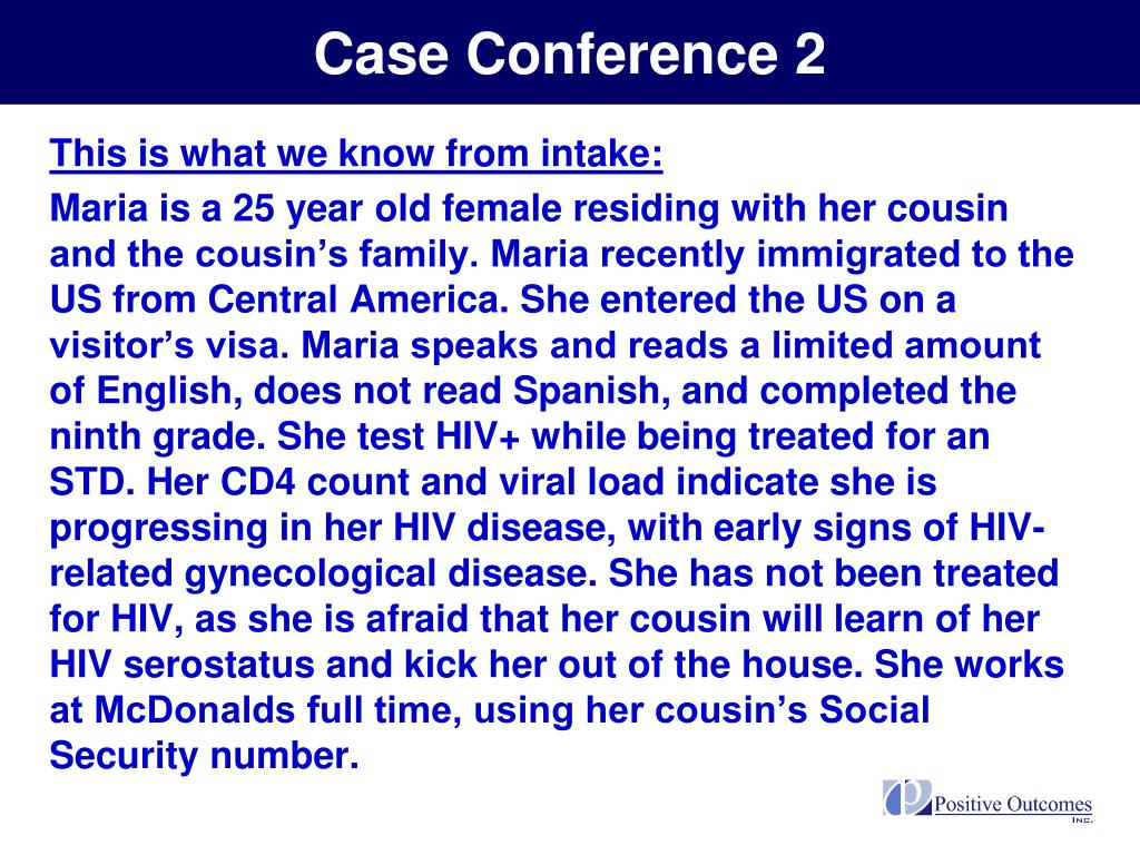 Case Conference 2