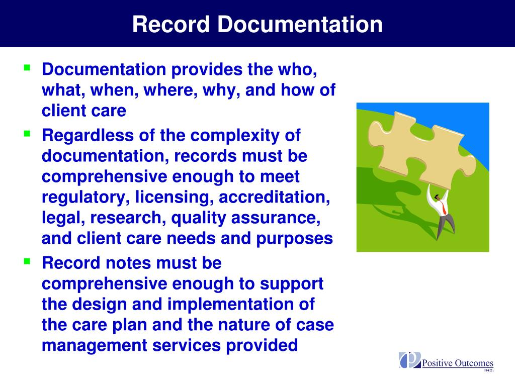 Record Documentation