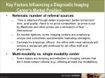 key factors influencing a diagnostic imaging center s market position51