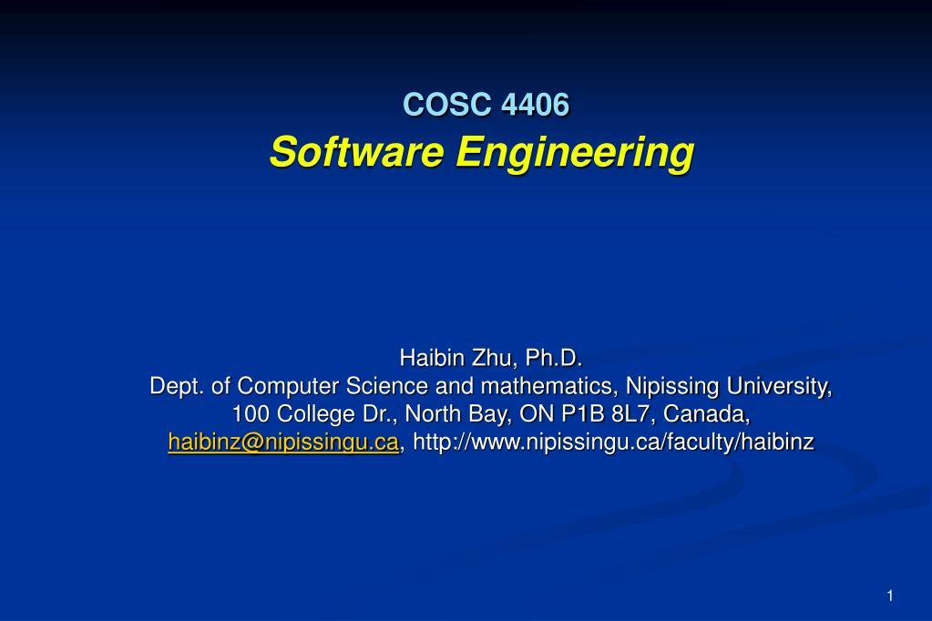 COSC 4406