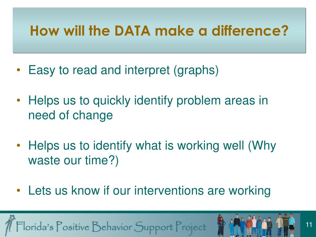 How will the DATA make a difference?