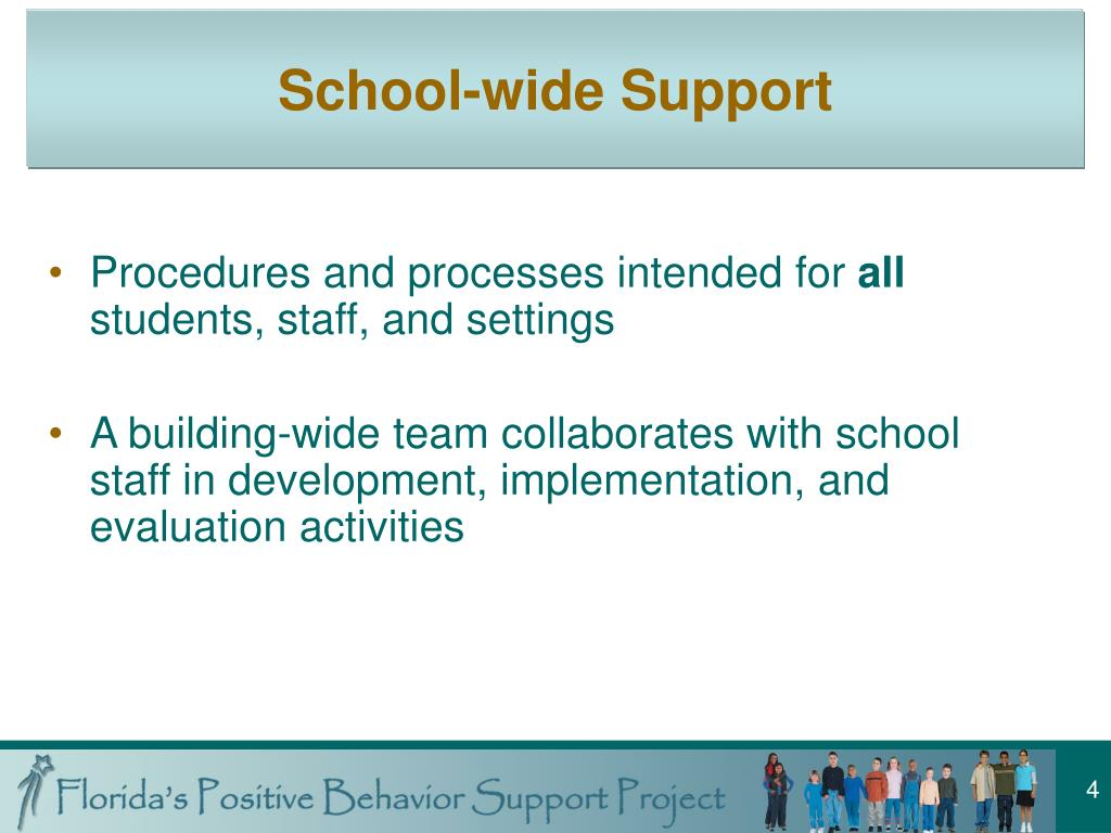 School-wide Support