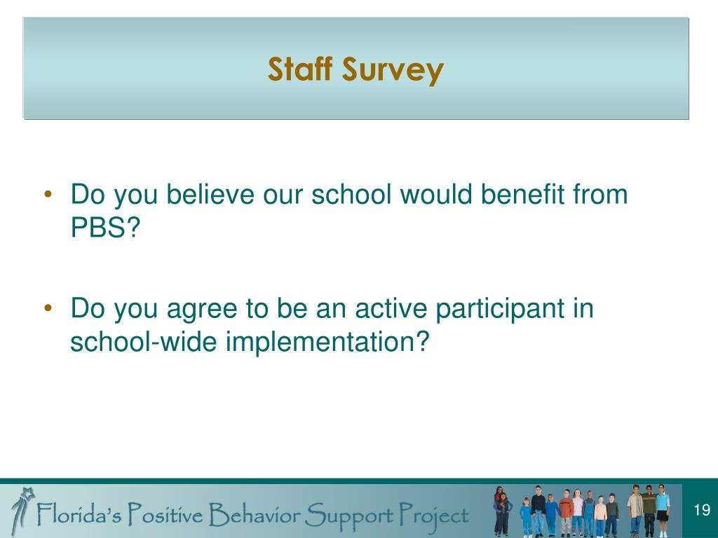 Staff Survey