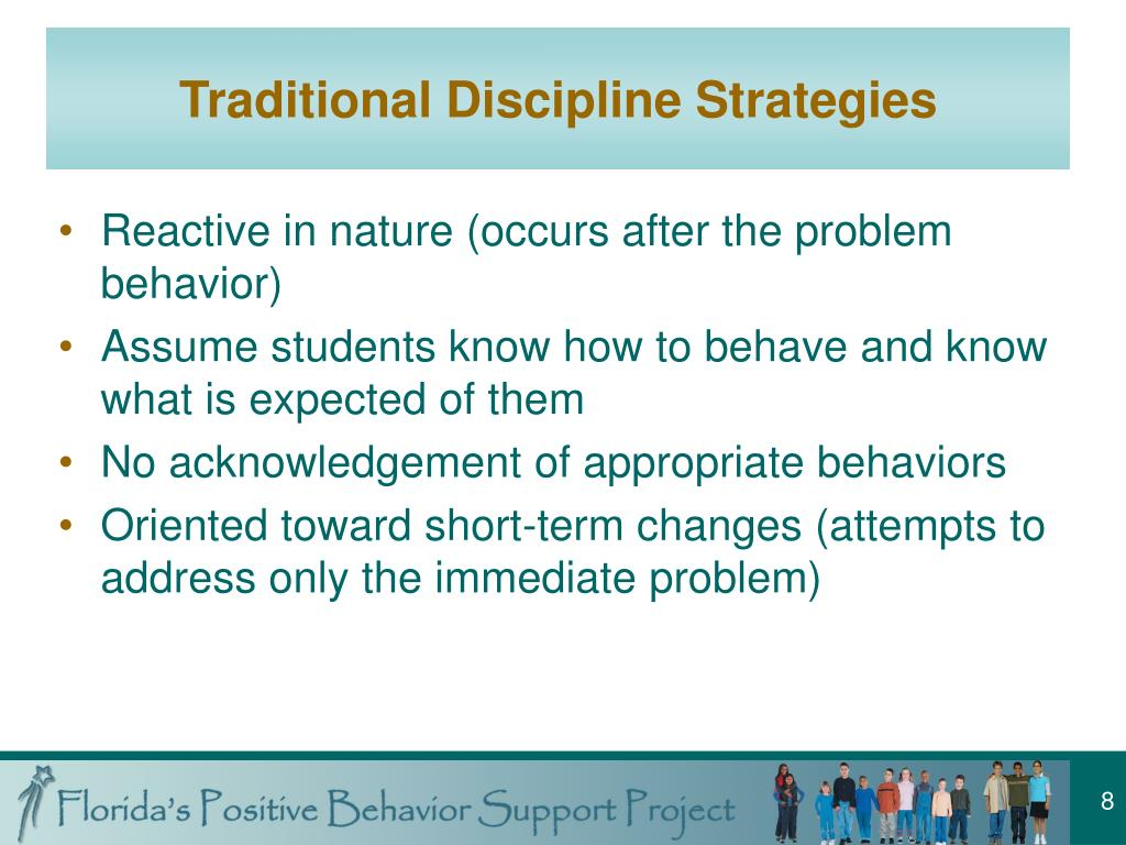 Traditional Discipline Strategies