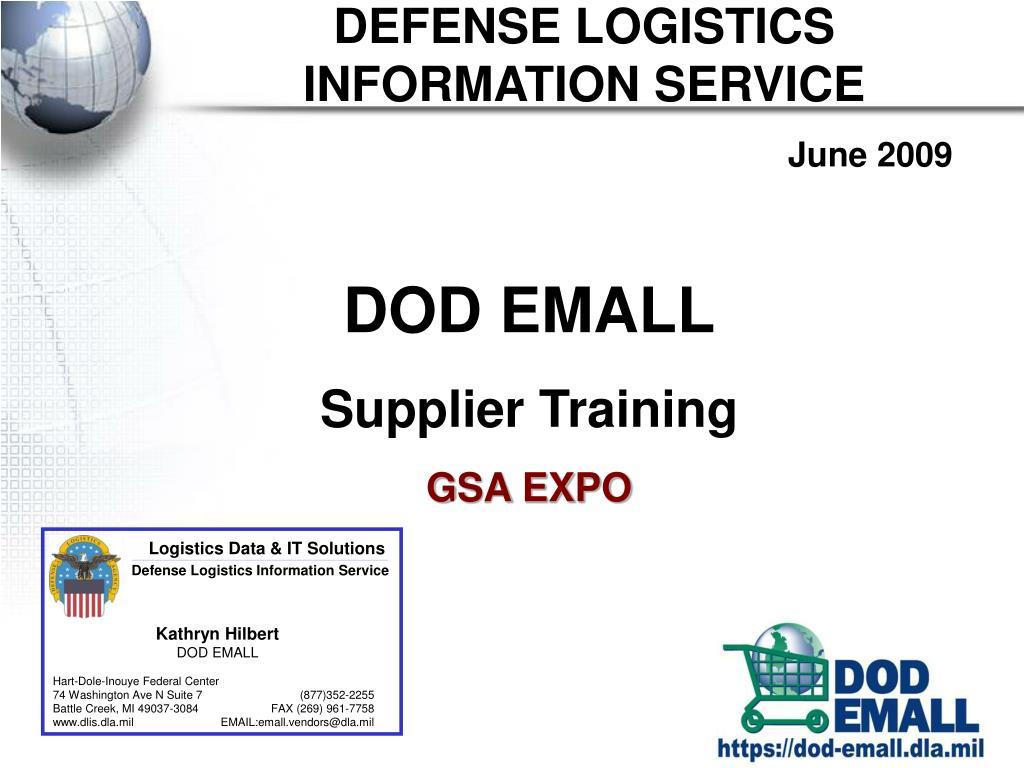 defense logistics information service