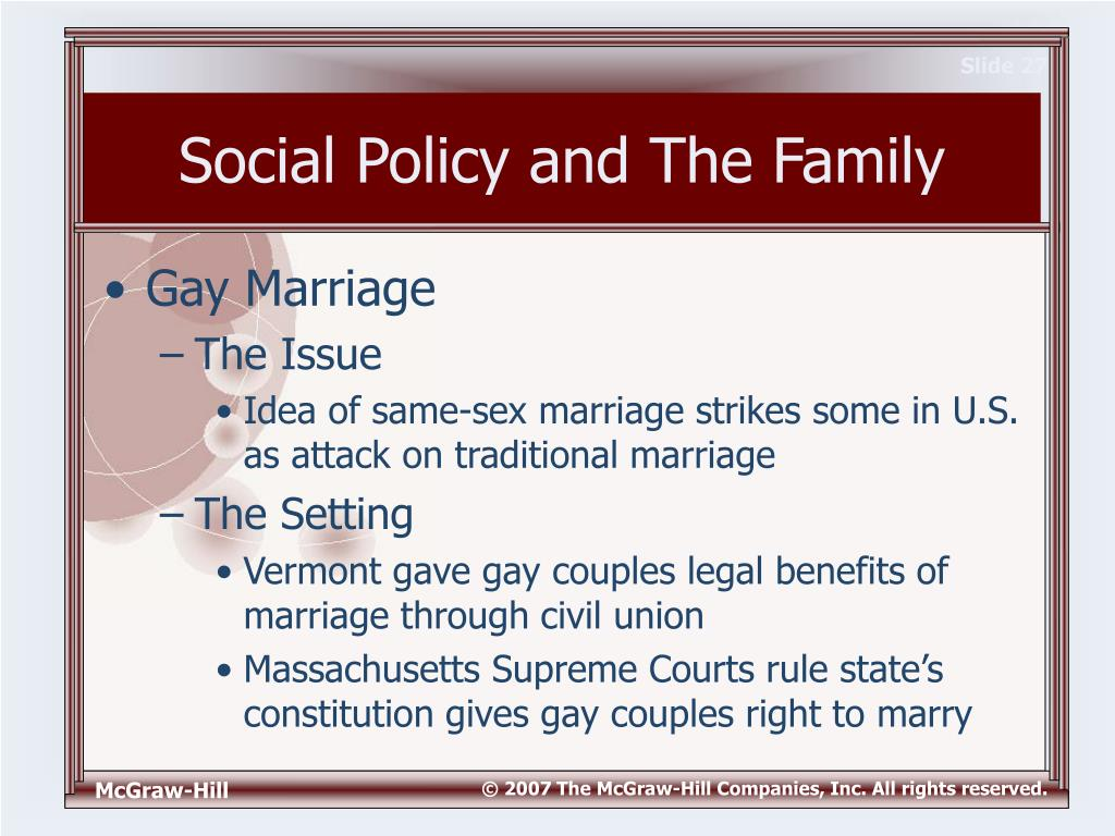 benefits of legalizing gay marriage