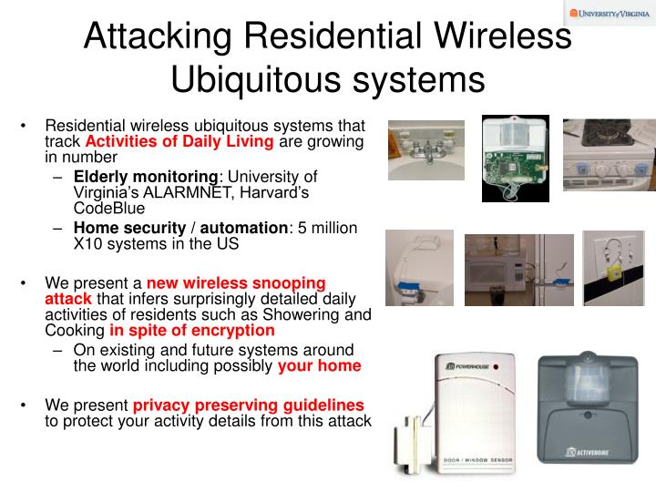 Attacking residential wireless ubiquitous systems l.jpg