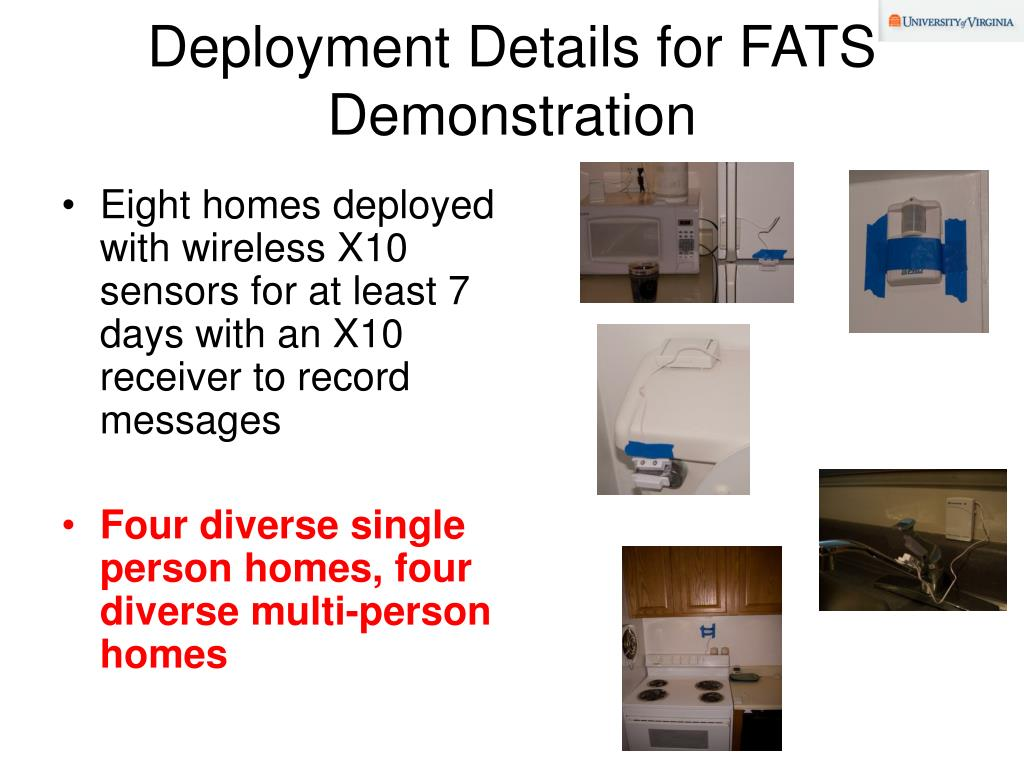 Deployment Details for FATS Demonstration