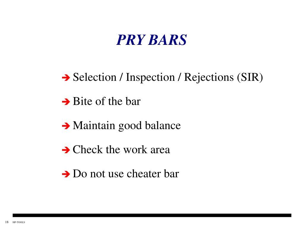 PRY BARS