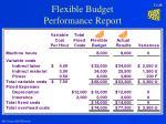 flexible budget performance report26