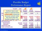 flexible budget performance report27