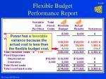 flexible budget performance report28