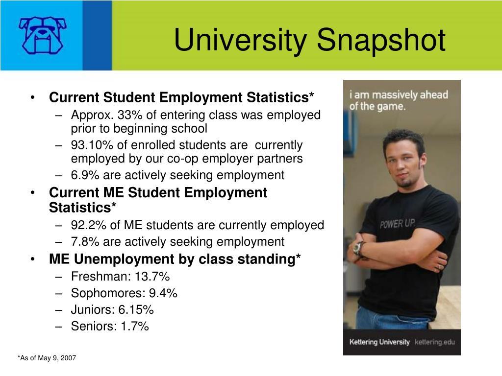 University Snapshot