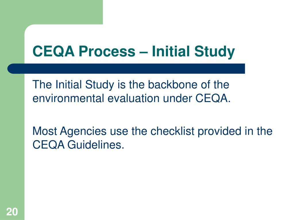APPENDIX A CEQA Initial Study Checklist - Escondido