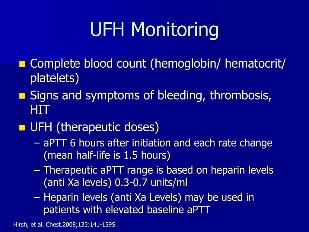UFH Monitoring