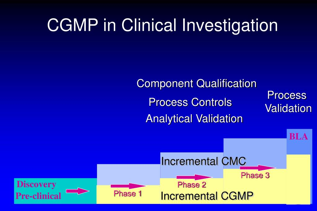 CGMP in Clinical Investigation