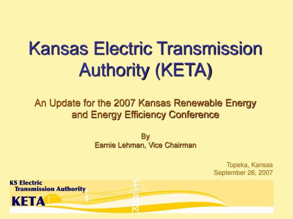 kansas electric transmission authority keta